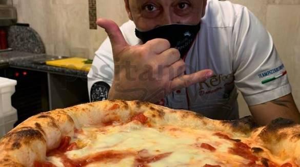 Sorrento riparte da Refood e la sua pizza con farina Molini Costa d'Amalfi