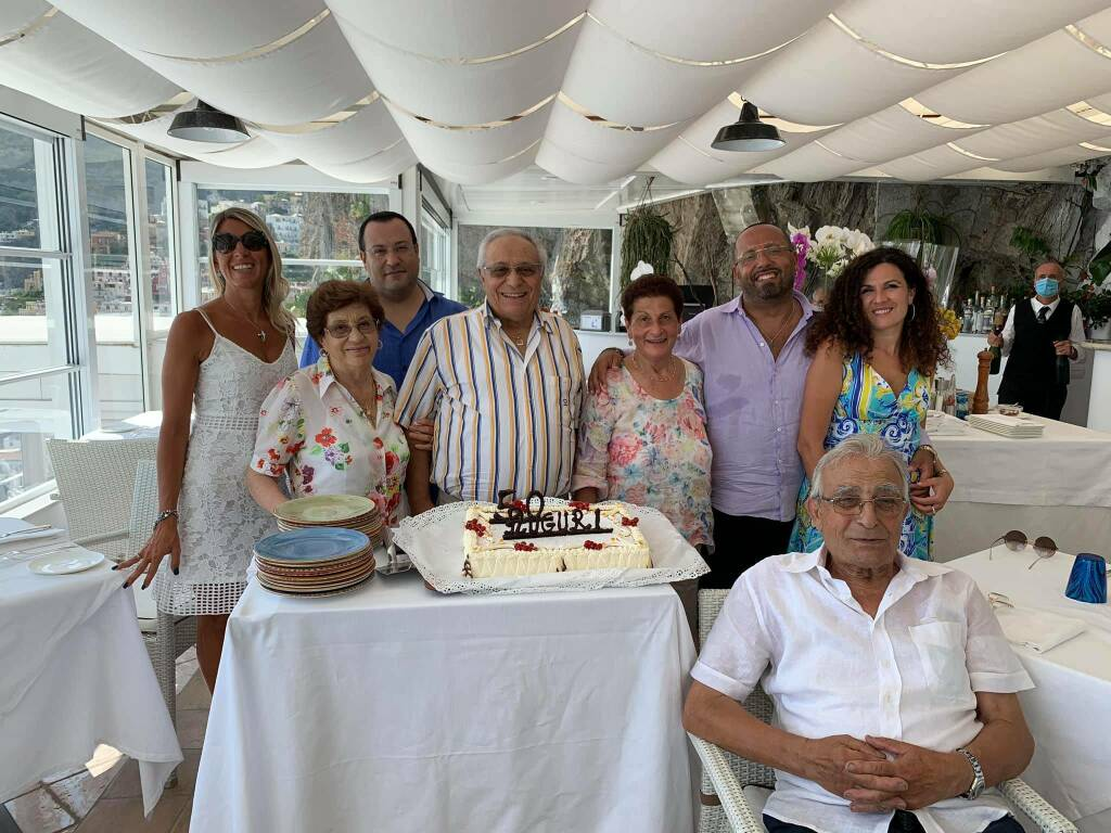 Positano Eden Roca i 50 anni