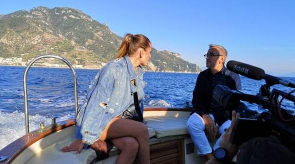 "Bruno Barbieri in ""4 Hotel"" tra la costa di Amalfi e Sorrento"