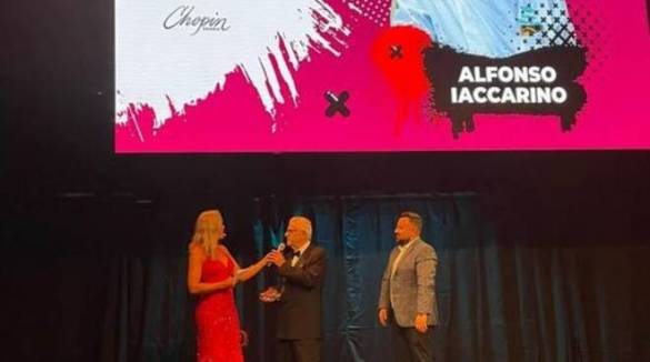 Sorrento, Alfonso Iaccarino premio The Best Chef Legend, il commento del sindaco Coppola