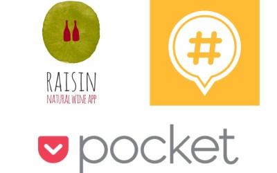 Tecnologia per lo stomaco #2: le app Raisin, Pocket e Mapstr