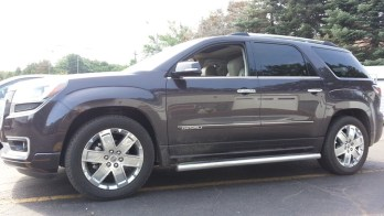 Factory Matched Headrests For Meadville Dealership's 2015 GMC Acadia