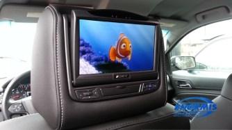 2015 Chevy Tahoe Headrest Screens