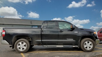 Harborcreek Repeat Client Gets Toyota Tundra Mirror Upgrades