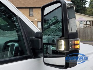 Chevy 2500 HD Power Fold Tow Mirrors