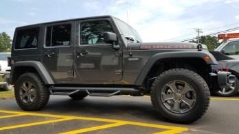 Jeep Wrangler Rubicon Backup Camera for Titusville Client