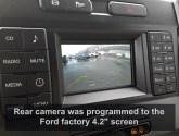 Ford F-550 Backup Camera