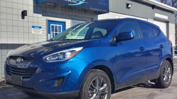 Repeat Wattsburg Client Adds Hyundai Tucson Starter and Heated Seats