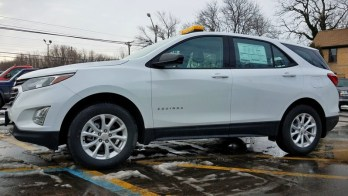 Erie Utility Company Upgrades 2018 Chevy Equinox Safety Lighting