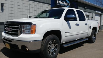 North East, PA, Client Upgrades GMC Sierra Fog Lights