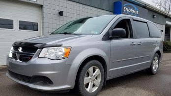 East Erie Customer Upgrades 2013 Dodge Caravan Technology