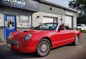 Classic Ford Thunderbird Sound System Upgrade for Erie Client