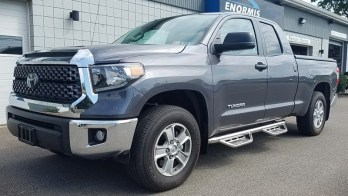 Toyota Tundra Side Steps and Remote Starter for Lawrence Park Client