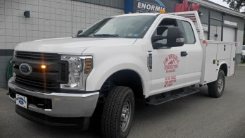 Ford F-350 Safety Lighting Upgrade for Waterford Client