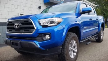 Repeat East Erie Client Adds Remote Start to 2017 Toyota Tacoma