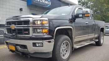 2014 Chevrolet Silverado Gets 2018 Silverado Tow Mirrors