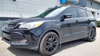 Erie Client Adds Trailer Brake Controller to 2016 Ford Escape