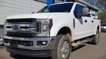 Client from Girard Upgrades 2019 Ford F-250 with Two-Way Remote Start