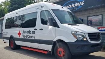American Red Cross Mercedes Sprinter Inverter Repair