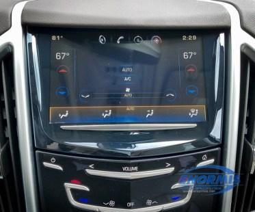 2015 Cadillac SRX AFTER screen repair
