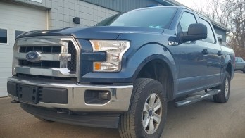 Client Has ENORMIS Add Factory Backup Camera to 2017 Ford F-150