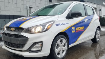 2019 Chevrolet Spark Delivery Vehicle Gets Rear Hatch Release Upgrade
