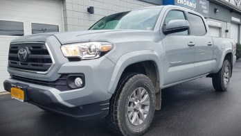 2019 Tacoma Remote Start added with compact 2-way remote
