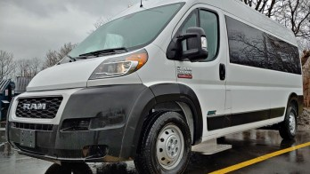 2019 Ram Promaster Mirrors Get Power-Fold and Heat in Erie, Pa