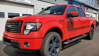 F-150 Cluster Repair on 2012 FX4 for local Erie, Pa Ford Dealership