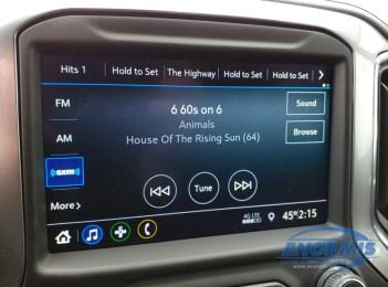 2020 Silverado gets SAT Radio