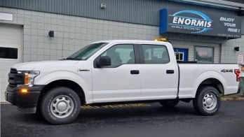 F-150 Warning Lights Help Keep this Truck Safer in the Oil fields for NY Client