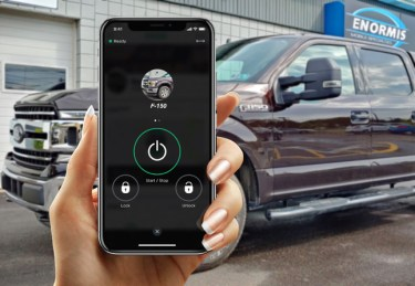 2019 F-150 XLT gets Drone Smartphone App