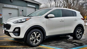 2021 Sportage gets Simple Remote Start for This Erie Client