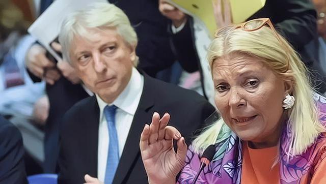 Carrió fustigó al vice canciller argentino por la entrega de la soberanía de Malvinas
