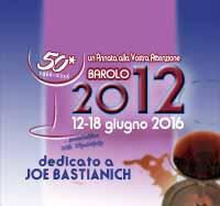 """LIVE FROM… """"Un'Annata alla Vostra Attenzione: il Barolo 2012"""""""
