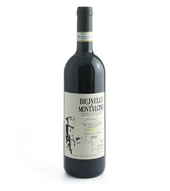 Bottiglia brunello di Montalcino Cerbaiona 2011
