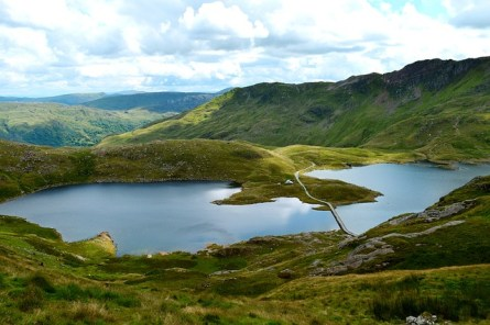 36. Im Snowdonia-Nationalpark in Wales klettern