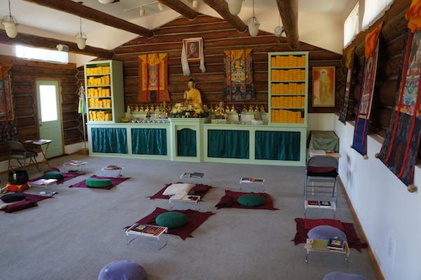 Die Meditationshalle