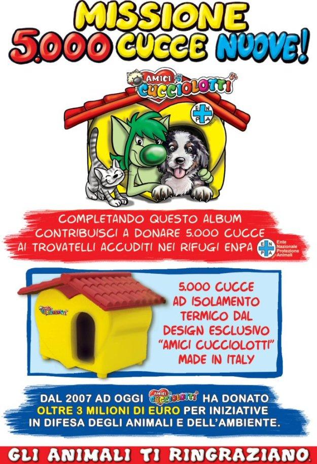 5000 cucce home page