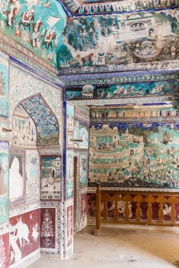 Bundi, intérieur du Garth Palace