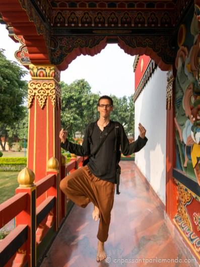 Monastère du Bouthan - moine en devenir