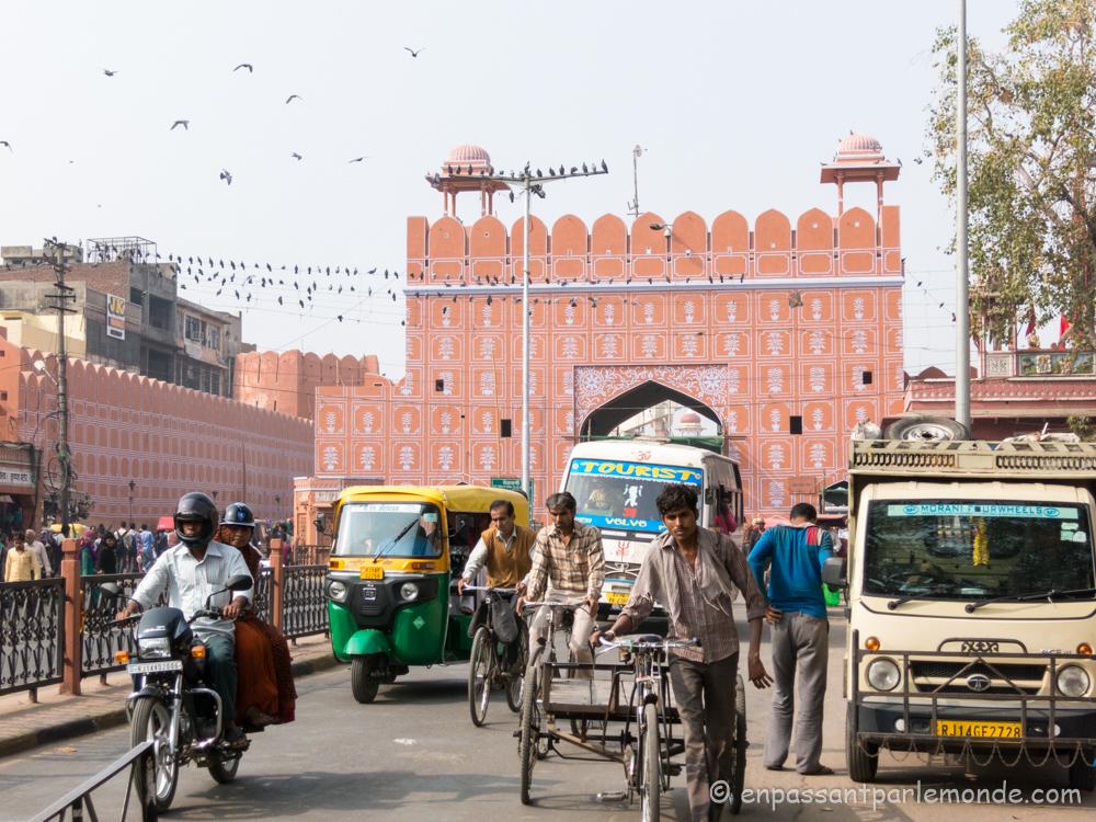 Rue de Jaipur, vieille ville