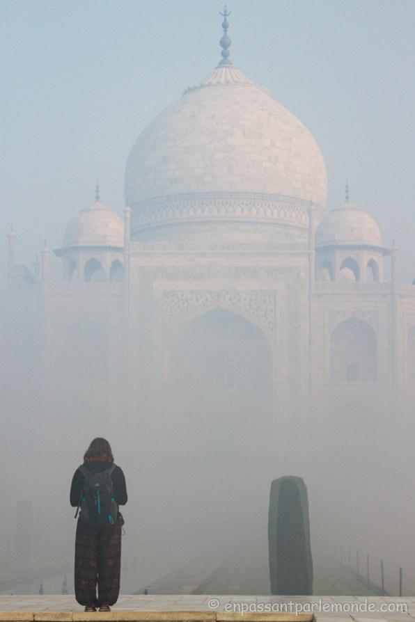 Brume sur le Taj