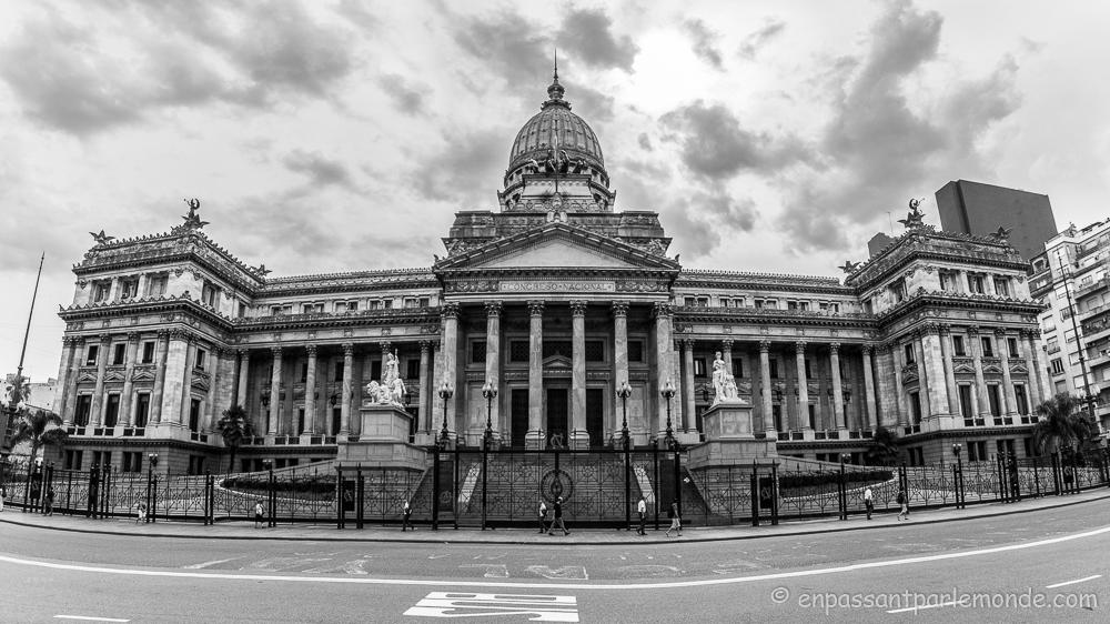 Congreso sur l'Avenida de Mayo