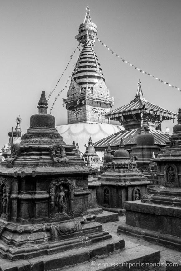 Népal - Katmandou - Swayambunath-19