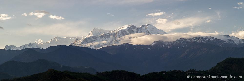 Lamjung Himal, Annapurna II et IV
