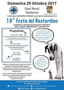 Festa del bastardino, Oasi Rossi Santorso, domenica 29 ottobre 2017