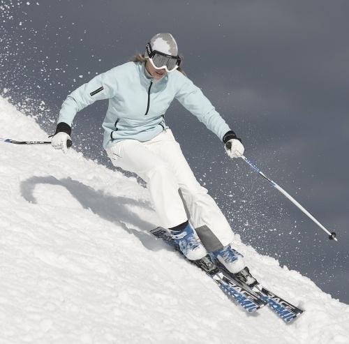esquiar natural