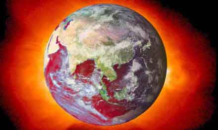 La Tierra las pasa canutas.
