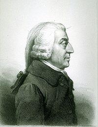 Adam Smith, economista y filósofo escocés considerado máximo exopnente de la economía clásica.